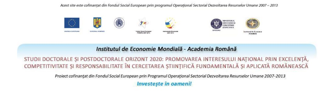Studii doctorale si postdoctorale Orizont 2020: promovarea interesului national prin excelenta, competitivitate si responsabilitate in cercetarea stiintifica fundamentala si aplicata romaneasca